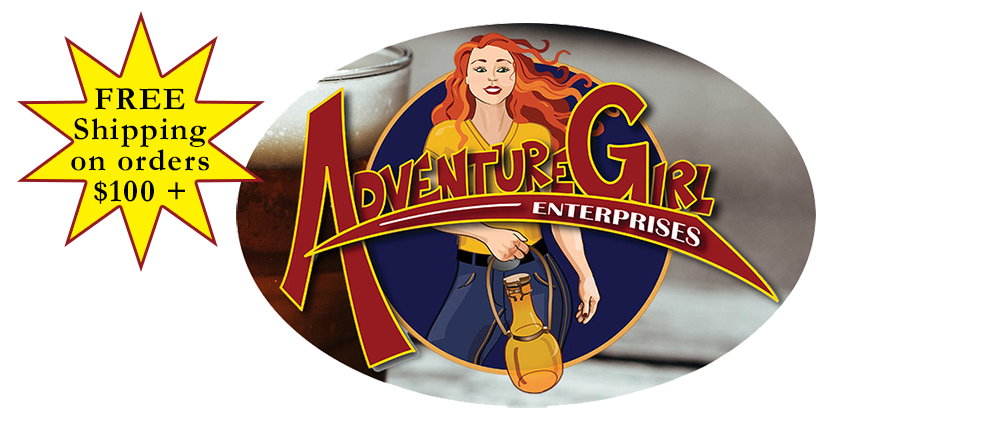 Adventure Girl Growlers